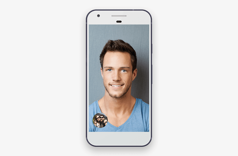 Change Places of Your Thumbnail and the Contact's Picture in Google Duo