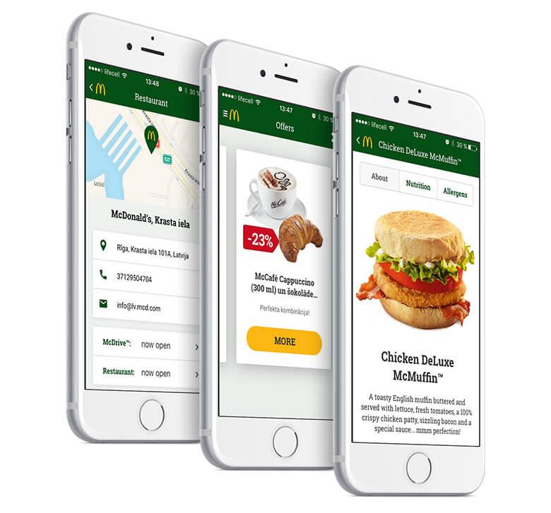 McDonald's Baltics App Developed by MLSDev