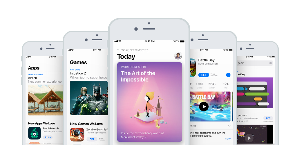 Refreshed App Store in 2018
