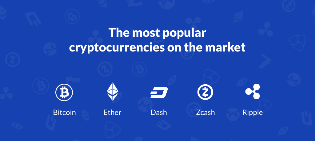 The Most Popular Cryptocurrencies on the Market